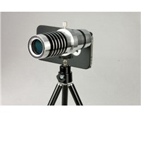 Mobile phone telescope lens 14X times a full metal for iphone4/4s