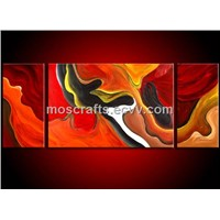 Modern Abstract Decorative Group  Oil Painting