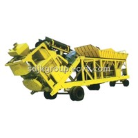 Movable Concrete Batch Mixing Plant