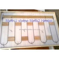 Multi U shape MoSi2 heater for kilns&furnace