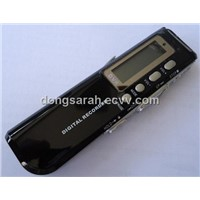 New Dvr 8gb 650hr Digital Audio Voice Recorder Dictaphone Mp3 Player