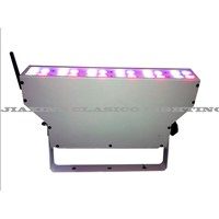 New RGBW Battery powered wireless DMX LED up lights / battery wireless led wall washer(CL-BPLW24)