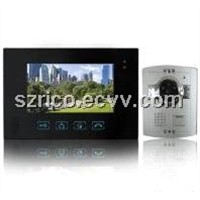 New Touch Panel 7 Inch Video Door Phone