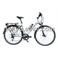 New design electric bike with mini bottle shape battery