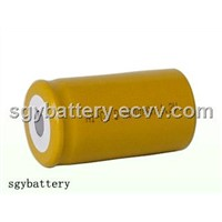 Ni-CD D4000mAh 1.2V  rechargeable battery