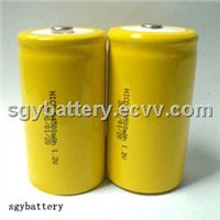 Ni-Cd D4500mAh 1.2V rechargeable battery