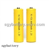 AA 600mAh 1.2V Rechargeable Ni-Cd Battery
