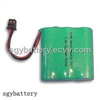 Ni-MH AA 1200mAh 3.6V battery pack