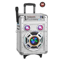 Outdoor USB Rechargeable Trolley Speaker with USB/SD