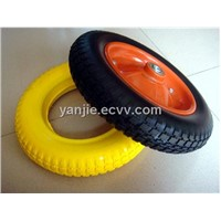 PU rubber wheel