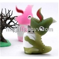 PVC Material Dinosaur Shape USB Flash Drive