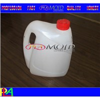 Plastic blow molding mould