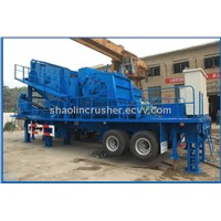 Portable Mobile Impact crusher plant