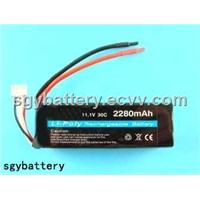 RC Toy Battery 2500mAh 11.1V Li-Polymer Battery