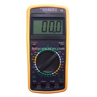 Removable LCD Multimeter DT9205A