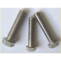 SUS347 STS347 S34700 Hex bolt full thread