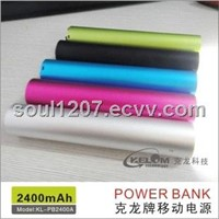 Seven Color Waterproof And Flashlight portable power charger for cell phone