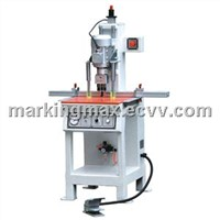 Single head hinge boring machine