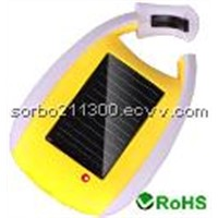Solar Charger with Carabiner
