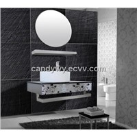 Stainless Steel(SUS 304) Single Basin Bathroom Cabinet (ISA-839)