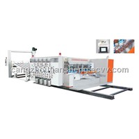TS-PY high speed f;exo printing & slotting & rotary die-cutting machine(lead edge feeding)