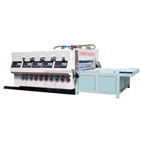 TS-four color printing and die-cutting machine