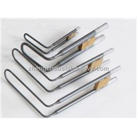 UL shape molybdenum heating elements