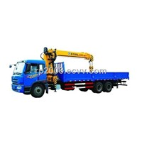 XCMG SQ10SK3Q telescopic boom truck mounted crane