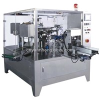 YHXZ6-1K Autoamtic Rotary Premade Bag Given Packing Machine