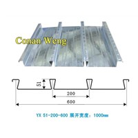 YX51-200-600Corrugated Steel Sheet