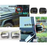 benz w463 90-12 fit 2013 look led arrow mirror cover