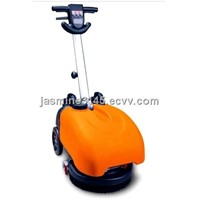 cable battery floor scrubber
