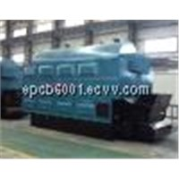cal/biomass fired chain grate boiler
