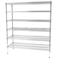 chrome wire shelving or wire racking