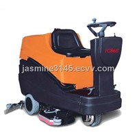 commercial auto floor scrubber