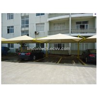 convenient shade sails for car parking