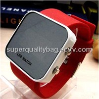 fashion mirror watch,fashion led watch