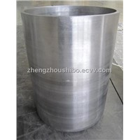 high purity tungsten crucible for the sapphire growing