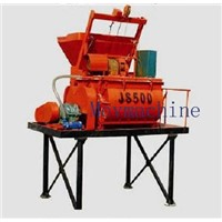 horizontal concrete mixer machine