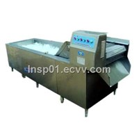 leaf type vegetable washing machine