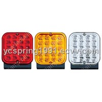 led truck or trailer fog lamp