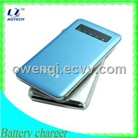 mobile battery charger,4000mAH capacity,power bank,OEM sevice,mobile phone battery charger