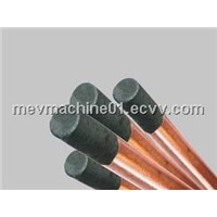round copper-coated gouging carbon electrodes