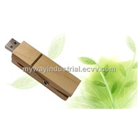 wooden pin usb stick