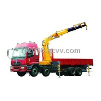 xcmg SQ12SK3Q telescopic boom truck mounted crane