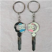 couple key chain key blanks