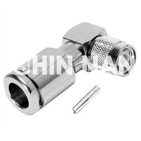TNC Right Angle Plug Clamp