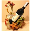 Ceramic / Pottery handicraft, Swan style bottle holder, fashion decoration / holidays gift.