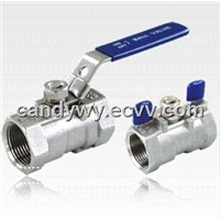 1PC Stainless Steel Ball Valve (with Butterfly Handles)