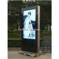 72 inch slim design outdoor lcd advertising player